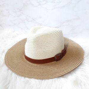 Emberelle West | Woven Panama Fedora Hat